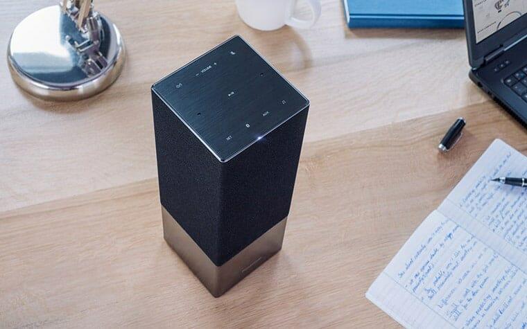 panasonic sc ga10 smart speaker mit google assistant und. Black Bedroom Furniture Sets. Home Design Ideas
