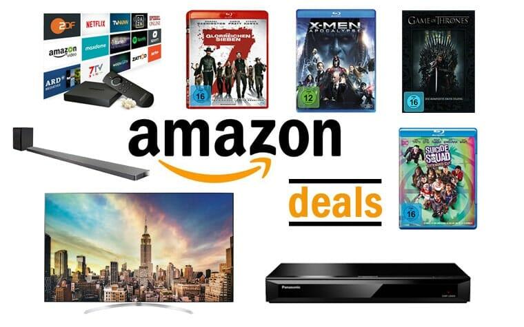Amazon Deals am Montag 07-08-2017