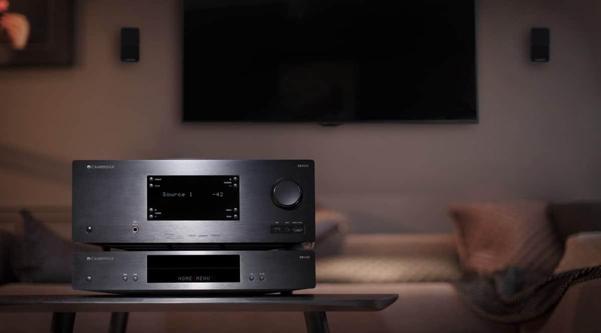 Der CXUHD 4K Blu-ray Player von Cambridge Audio unterstützt sogar Dolby Vision HDR