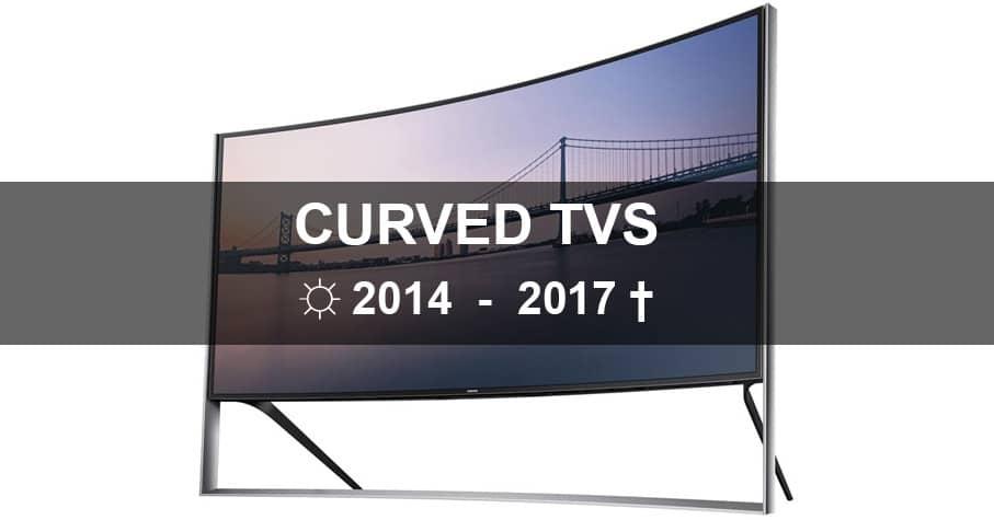 Curved / gebogene 4K Fernseher sterben aus