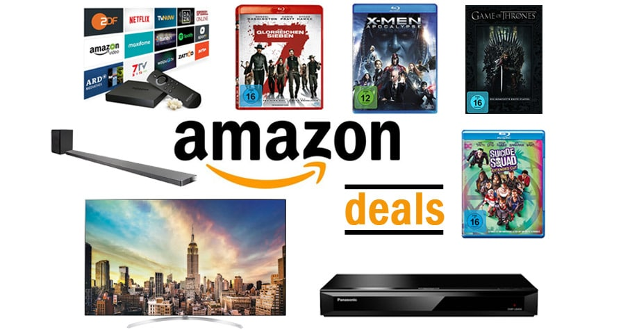 Amazon Deals am Montag 07-08-2017