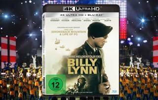 Die irre Heldentour des Billy Lynn 4K Blu-ray Review Test