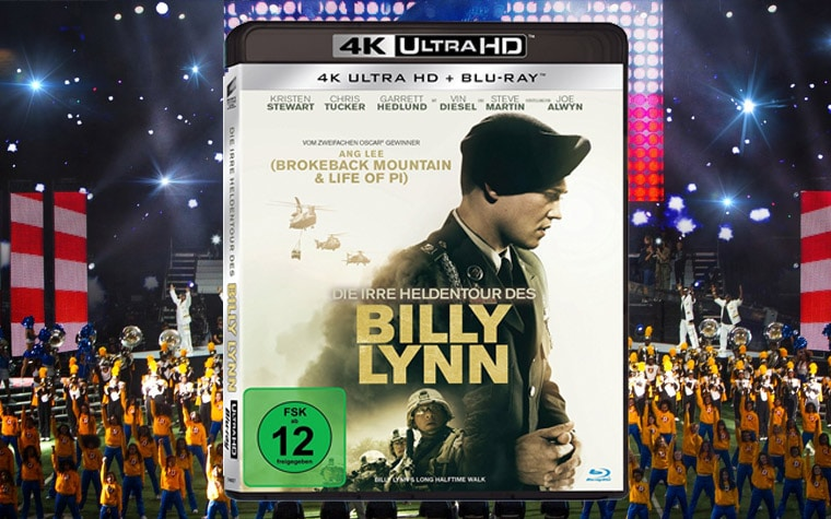 Die irre Heldentour des Billy Lynn 4K Blu-ray Review Test