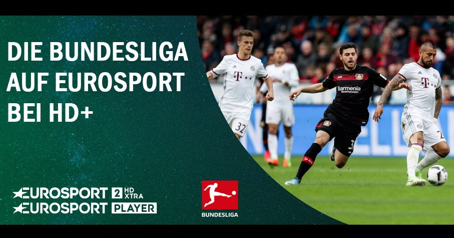 Fußball Bundesliga auf Eurosport über HD Plus+
