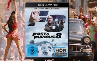Fast and Furious 8 4K Blu-ray Review Test