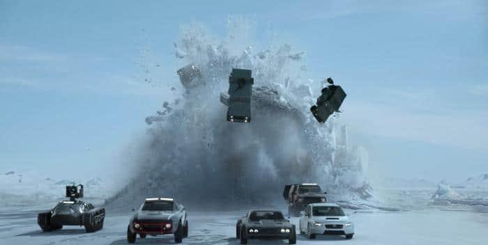 """Im """"Finale"""" von Fast and Furious 8 kommt der DTS:X Sound so richtig in fahrt. Der Klang beeindruckt aber während des gesamten Films"""