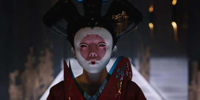 """Die Geishas sind ein Highlight (wenn auch nur ein kurzes). Der Dolby Atmos Ton kommt beim """"Hack"""" so richtig in Fahrt"""