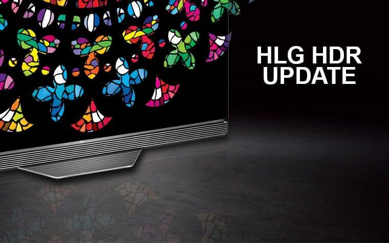 LGs OLED der E6 und C6 Serie aus 2016 erhalten HLG-HDR via Update