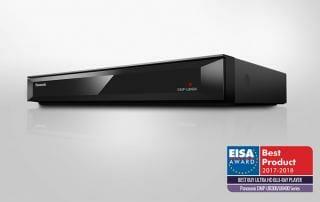 Panasonic DMP-UB404 erhält EISA Award uns ist der beste 4K Blu-ray Player den man 2017/2018 für Geld kaufen kann