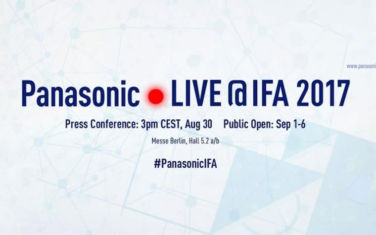 Panasonic IFA 2017 Pressekonferenz Live