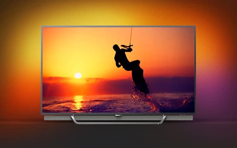 philips 8602 uhd tv mit quantum dot ambilight und android tv ifa 2017. Black Bedroom Furniture Sets. Home Design Ideas