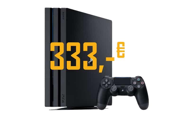 Playstation 4 Pro 1TB zum Bestpreis von 333,- Euro