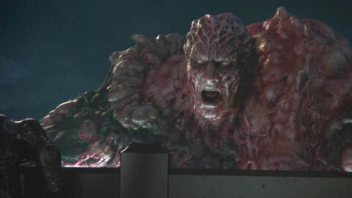 Resident Evil: Vendetta ist eher dunkel gehalten. Die Spiele aus Schatten und Licht bewahren eine beklemmende Atmosphäre