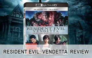 Resident Evil: Vendetta 4K Blu-ray Review / Test