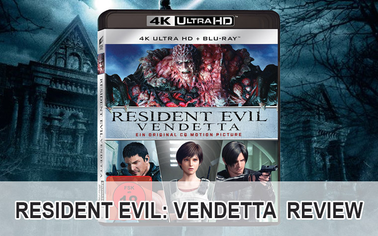 Resident Evil: Vendetta 4K Blu-ray Review / Test