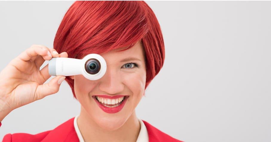 360 round neue vr 4k kamera von samsung auf der ifa 2017