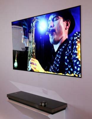 Wallpaper OLED TV von Skyworth. So ähnlich könnte auch das Modell von Metz aussehen. Bildquelle: www.oled-info.com