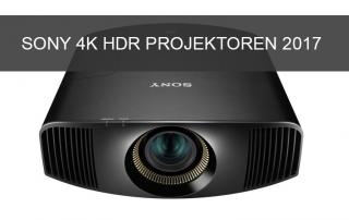 Neue 4K HDR Heimkino-Projektoren von Sony auf der IFA 2017