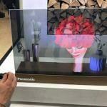 Transparenter 4K OLED TV von Panasonic