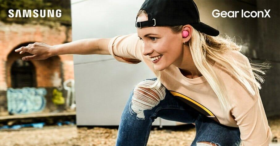 Neue GEAR IconX kabellosen In-Ear-Kopfhörer der zweiten Generation