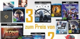 Bis zu 33% sparen! 3 CDs, DVDs, Blu-rays, 4K Blu-rays oder Schallplatten zum Preis von 2