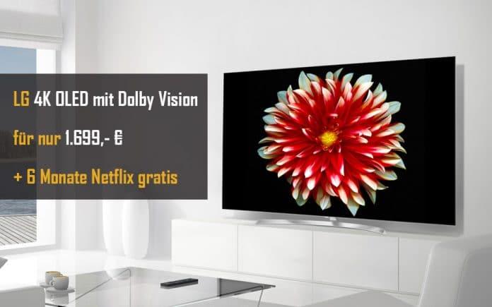 4K OLED mit 55 Zoll und Dolby Vision für günstige 1.699,- Euro auf Amazon.de