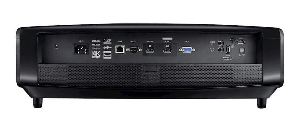 Alle wichtigen Anschlüsse vorhanden inkl. einem HDMI 2.0 Anschluss mit HDCP 2.2