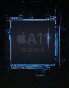 Der A11 Bionic Prozessor arbeitet bis zu 70% schneller