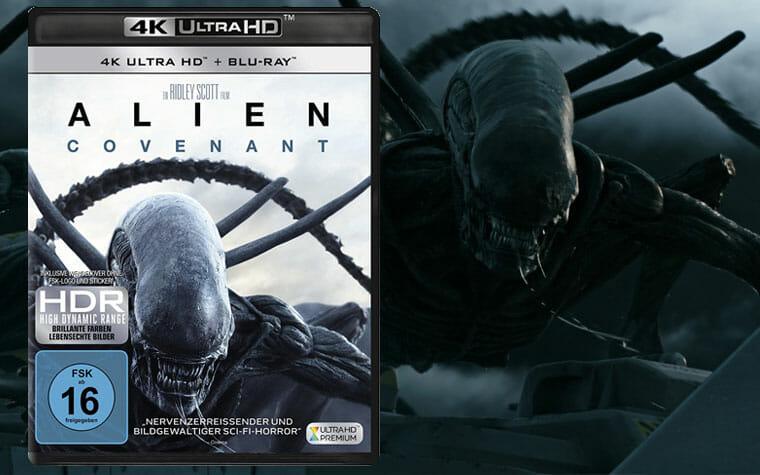 Alien Covenant 4K Blu-ray Review / Test