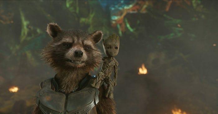 Baby Groot ist eigentlich der heimliche Star des Films - darf aber niemand wissen