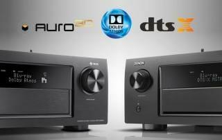 Denon AV-Receiver AVR-X4400H und AVR-X6400H mit Auro 3D, Dolby Atmos und DTS:X Sound