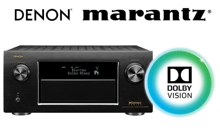 Denon & Marantz AV-Receiver aus 2015/2016 erhalten Dolby Vision Update
