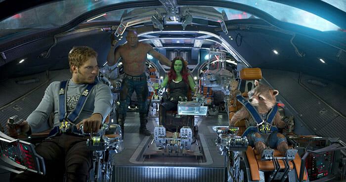 Dreamteam bei der Arbeit. Guardians of the Galaxy Vol. 2 begeistert mit einem fast perfekten 4K Auftritt