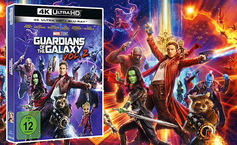 Guardians of the Galaxy Vol. 2 4K Blu-ray Review / Test