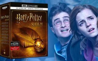 Harry Potter alle 8 Filme auf 4K Blu-ray in einem Bundle