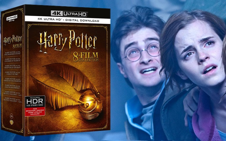 Harry Potter alle 8 Filme auf 4K Blu-ray in einem Bundle