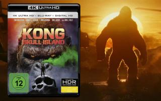 Kong: Skull Island 4K Blu-ray Review / Test