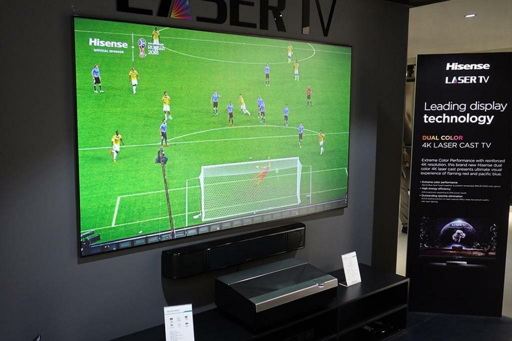 Hisense 4K Ultra HD Smart Laser TV auf der IFA 2017