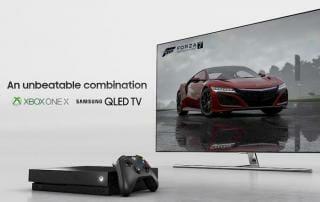 QLED & Xbox ONE X sind Teil einer groß angelegten 4K Promotion