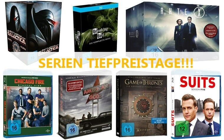 Serien Tiefpreistage auf Amazon.de