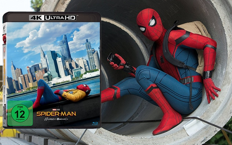 Spider-Man Homecoming 4K Blu-ray mit Dolby Vision HDR