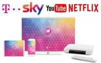 Telekom weitet sein EntertainTV Angebot aus mit 4K UHD Inhalten von Sky, Netflix, Youtube und Fernsehen