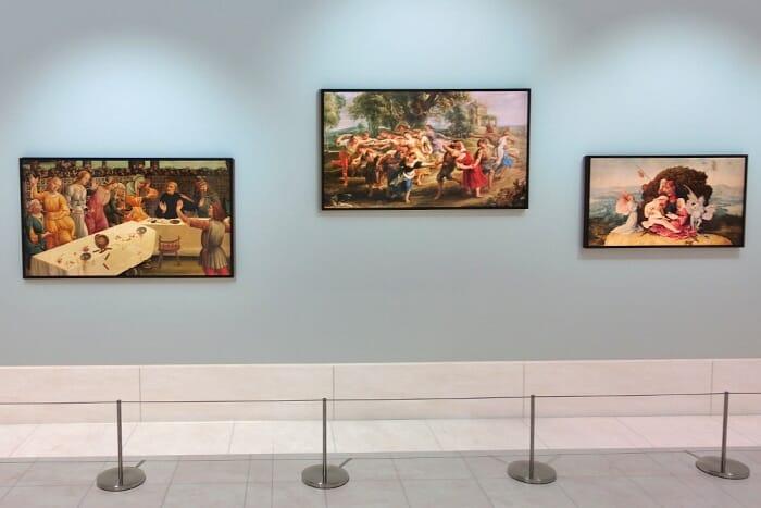 """""""The Frame"""" zu Deutsch """"Der Rahmen"""" verbindet Kunst (Art Mode) mit einem 4K / HDR Fernseher."""