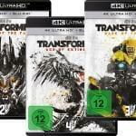 Transformers Teil 1-4 auf 4K Blu-ray