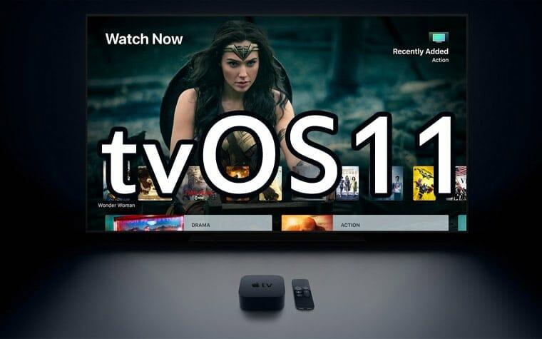 tvOS 11 Update für Apple TV veröffentlicht
