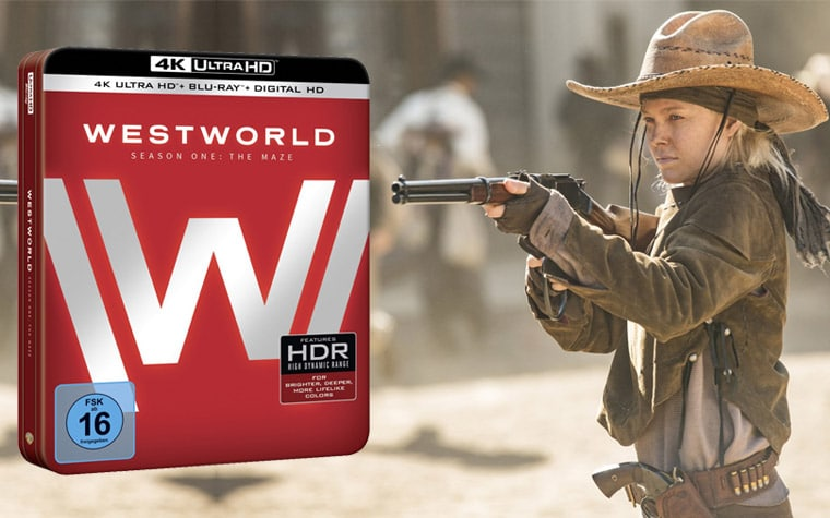 Westworld Staffel 1 auf 4K UHD Blu-ray