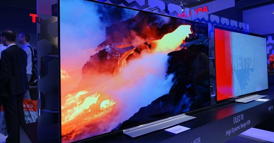 Der X9 4K OLED Fernseher von Toshiba unterstützt Dolby Vision