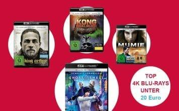 Top 4K Blu-rays für unter 20 Euro!