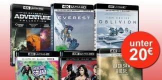 4K UHD Blu-rays für unter 20 Euro