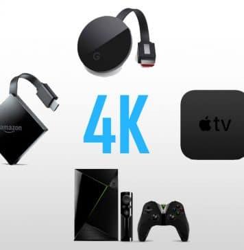 4K Streaming Player im Vergleich (Amazon Fire TV, Nvidia Shield, Apple TV 4K, Google Chromecast Ultra)
